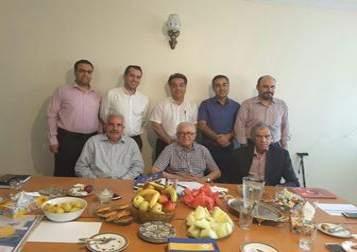 جلسه شواری سیاستگذاری عمران رهاب